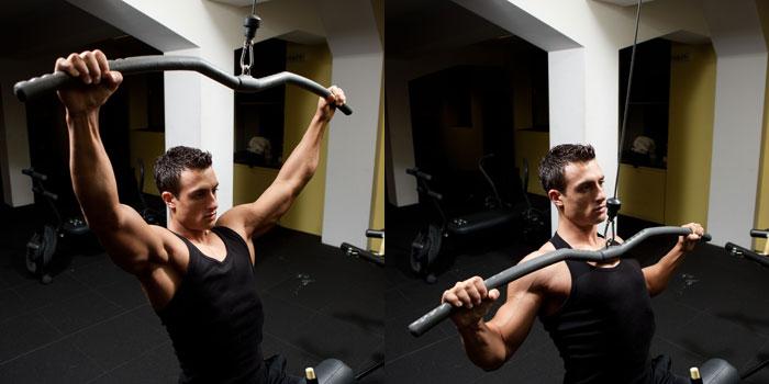Упражнения на верх спины