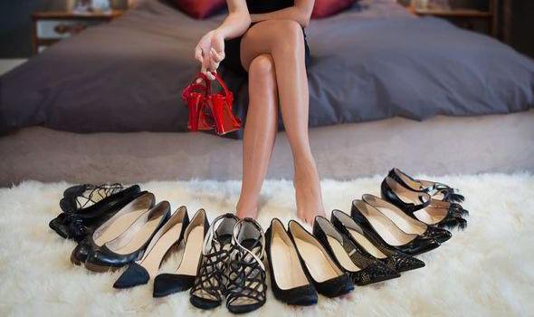 Выбор аккуратно сшитых туфель