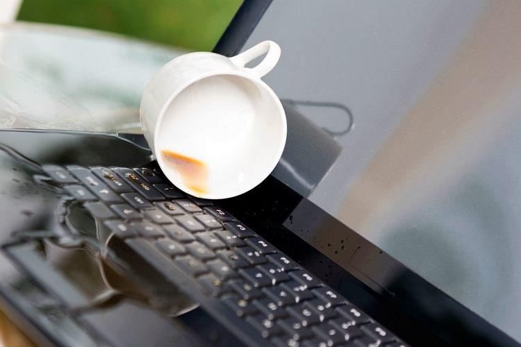 Что делать если залил клавиатуру ноутбука. Пошаговая инструкция