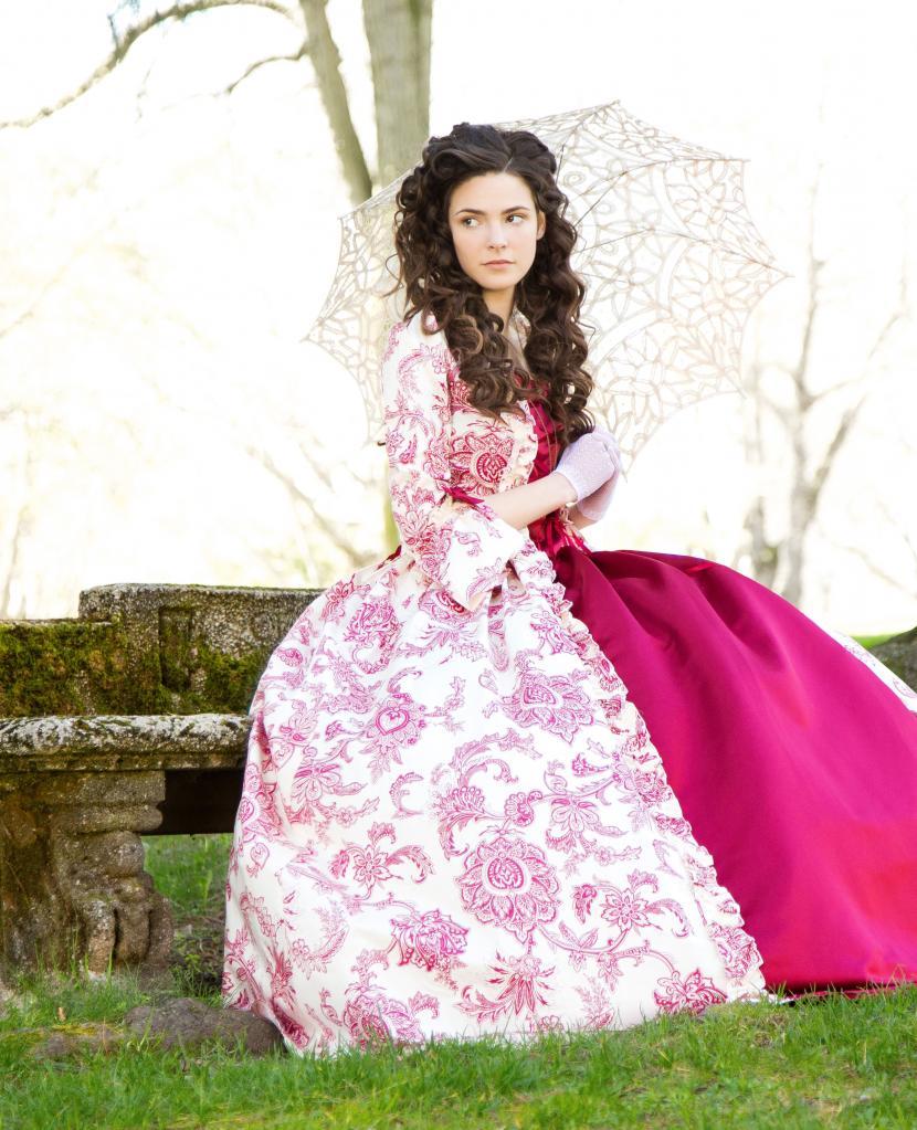 Платье в стиле Рокко