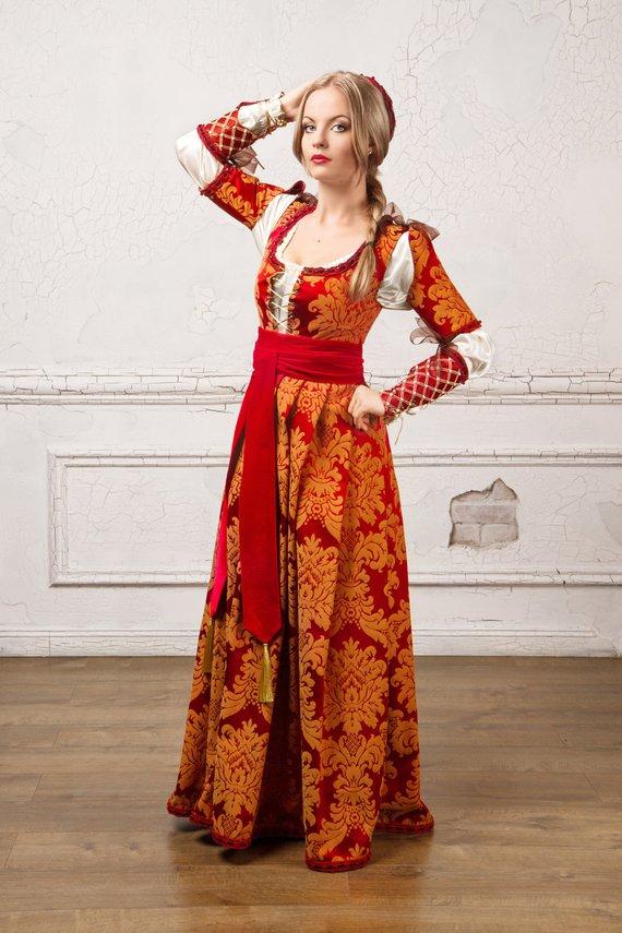 Платье 15 века