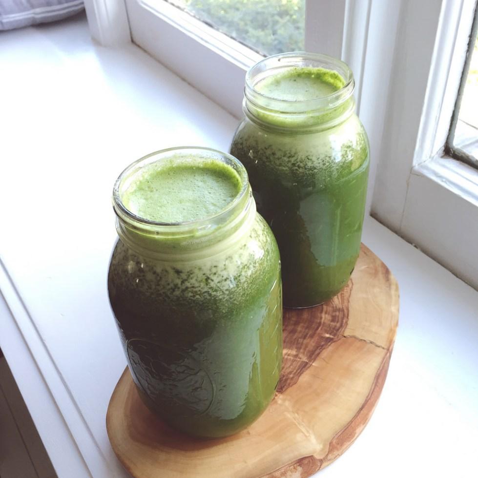Сок из зелени