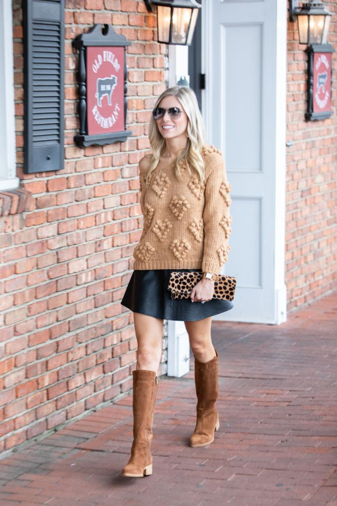 кожаные юбки модели и фасоны