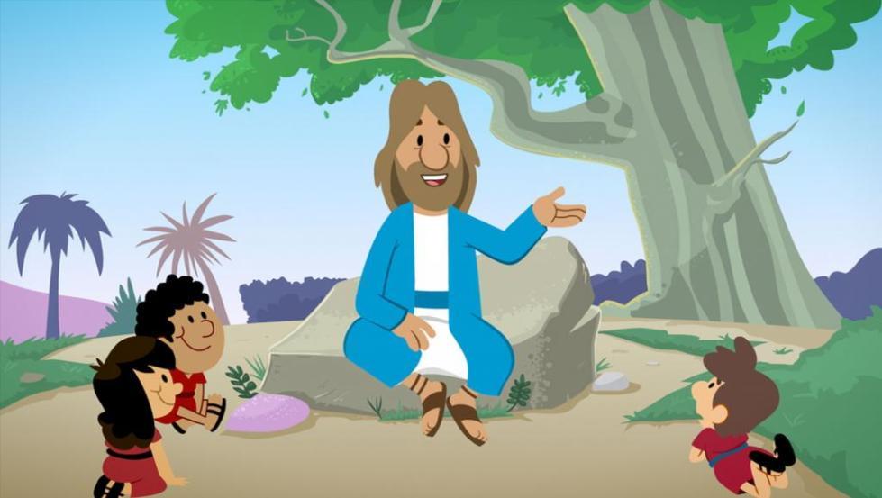 Иисус рассказывает историю