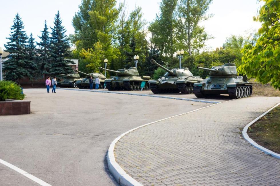 Четыре танка