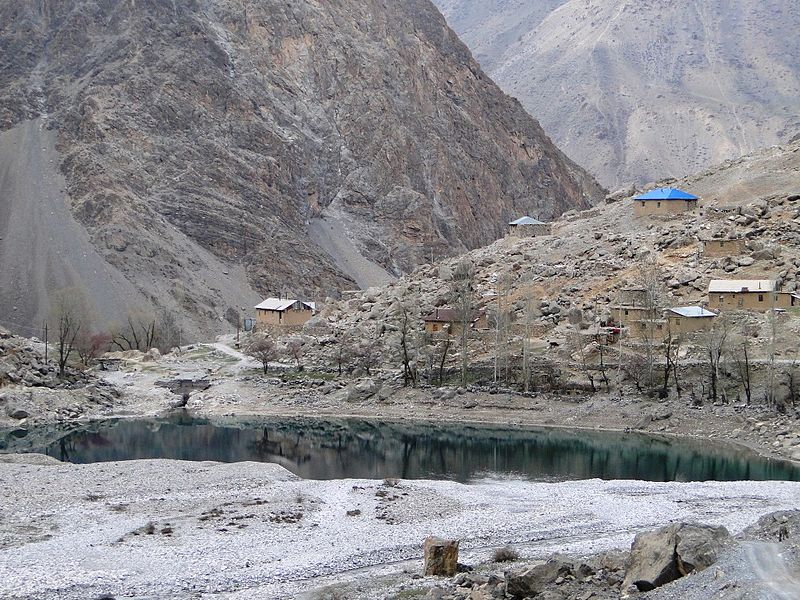 Горный кишлак Таджикистана