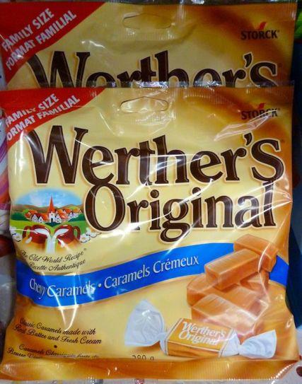 Werthers Original im Supermarkt in Montréal