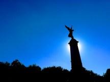 Monument George-Etienne Cartier, der Engel von Montréal
