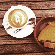Cafe und Tortilla Santiago de Compostela