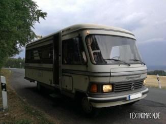 Hymermobil S660 unterwegs in Thüringen