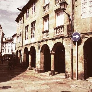Kreuzung Santiago de Compostela
