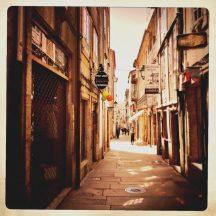 Rua Caldeirería Santiago de Compostela