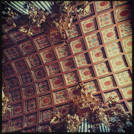 San Martin Pinario Decke Santiago de Compostela