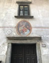 Noch eine Fassade in Santa Maria Maggiore