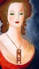 El collar de María Antonieta, oleo de KolordeCítara