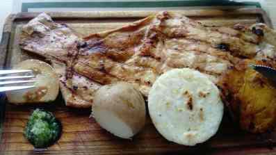 Rindfleisch in Fischform