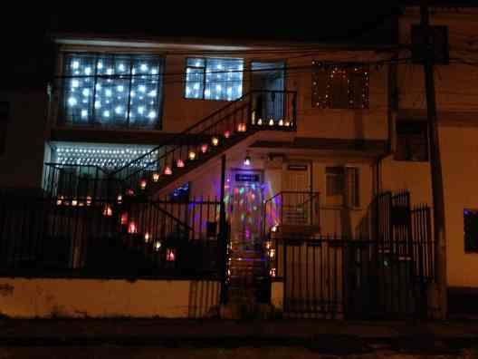 Charmante Kombination von Weihnachten und Lichtern (Bild: M. Schäfer, Textrakt)