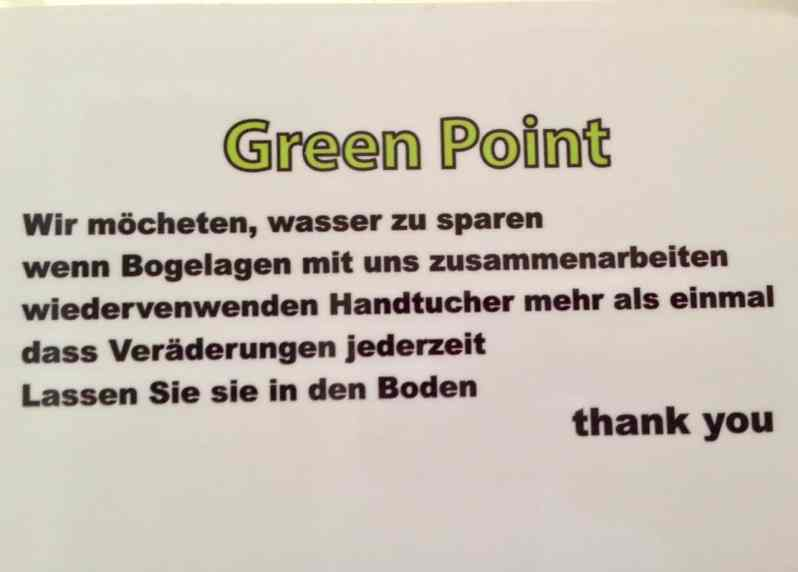 Green Point (Bild: M. Schäfer, Textrakt)