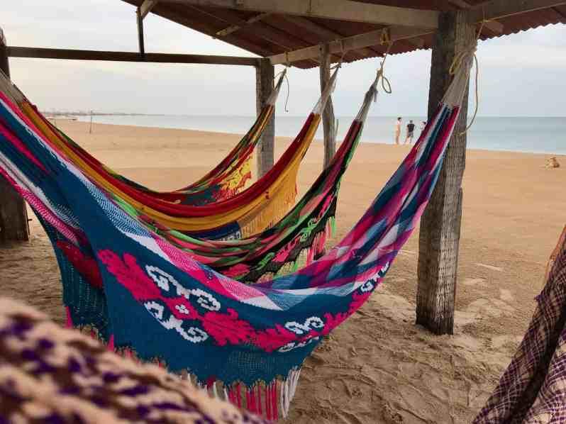 Cabo de la Vela: Geschlafen wird in Chinchorros der Wayuu (Bild: M. Schäfer)