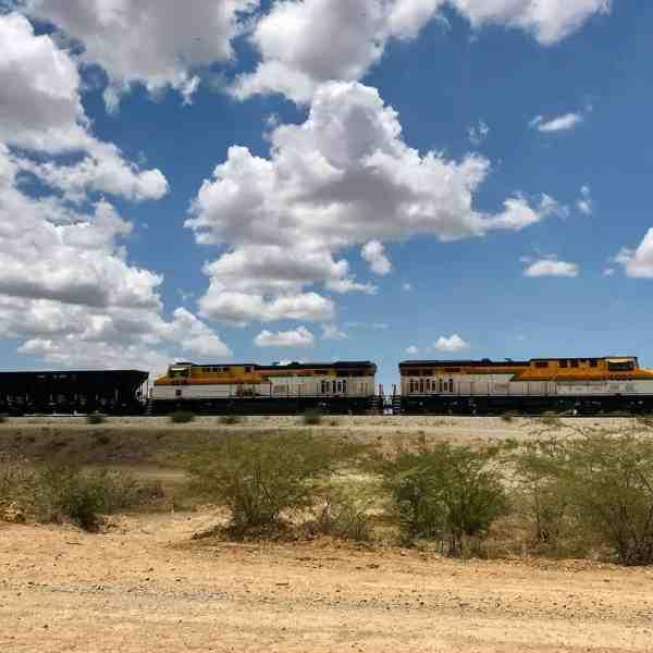 Kohlezug in der Guajira (Bild: M. Schäfer, Textrakt)
