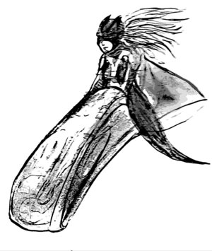 Super Cripple as drawn by Rich