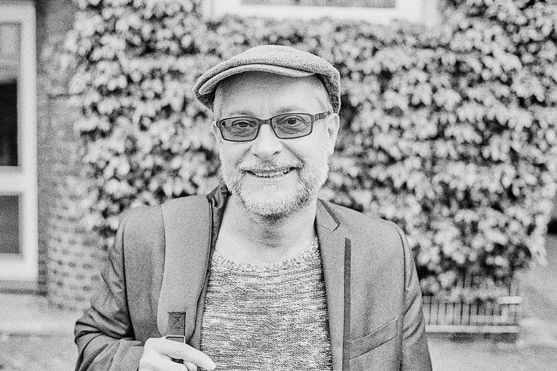 Porträt von mir auf dem Markt am Spritzenplatz in Ottensen