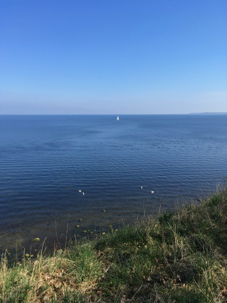 Blick auf die Ostsee am Brodtener Ufer