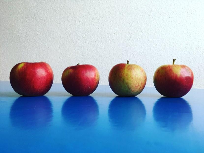 4 Santana-Äpfel