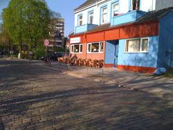 Der Balkan-Grill in der Lengerckestraße