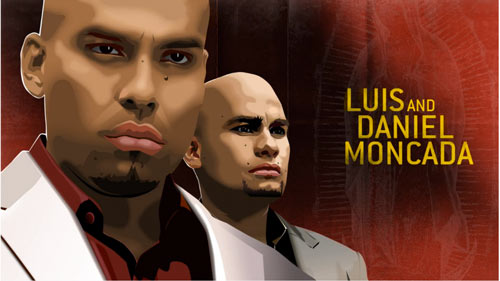 Die Moncada-Brüder Luis und Daniel