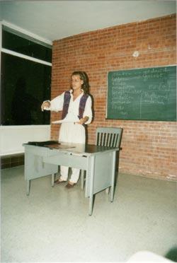 Markus (mit 23) als Deutschlehrer in Mexiko