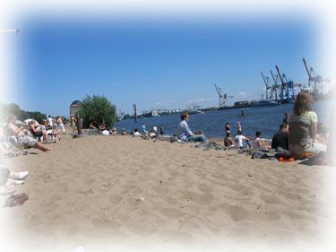 Elbstrand in Hamburg