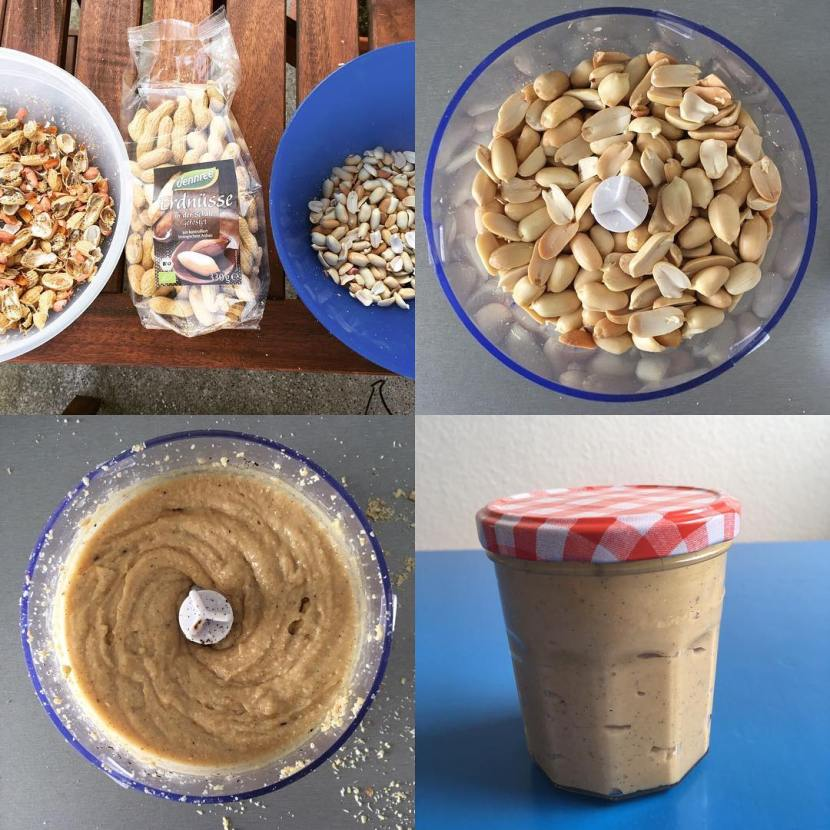 Vanille-Honig-Erdnussbutter