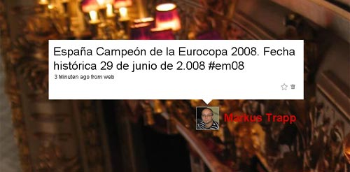 España - Campeón Eurocopa 2008