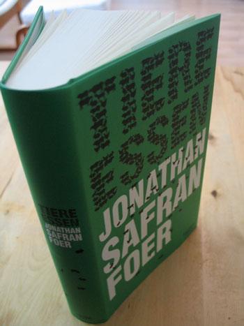 Mein Exemplar von Jonathan Safran Foer: 'Tiere essen'