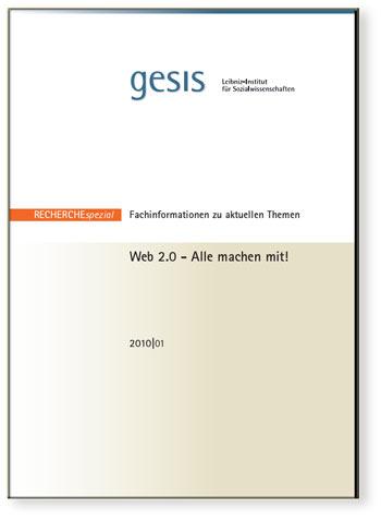 Web 2.0 - Alle machen mit! - Recherche Spezial