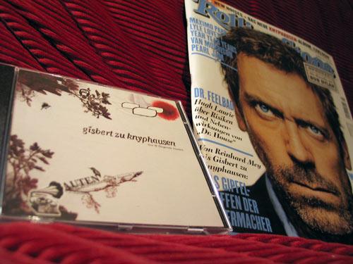 Gisbert zu KnyphausenLive-CD & Rolling Stone