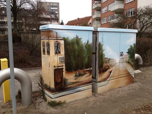 Stromkasten-Graffiti
