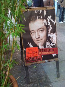 Poster - Rainald Grebe