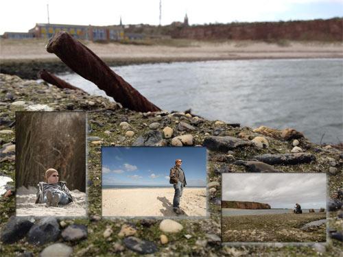 Helgoland-Collage: Vorschaubilder von Stefan Groenveld