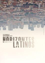 Plakat Horizontes Latinos 2012
