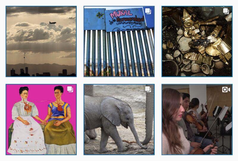 Instagram-Account von El País México