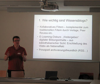 Lambert Heller: Wissensblogs