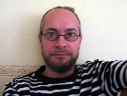 Markus VOR Rasur und Haarschnitt