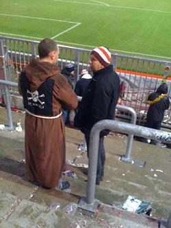 Ein Pauli-Mönch: Geistlicher Beistand in der Süd