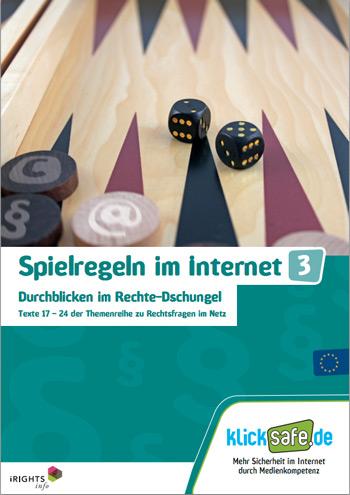 """""""Spielregeln im Internet"""""""