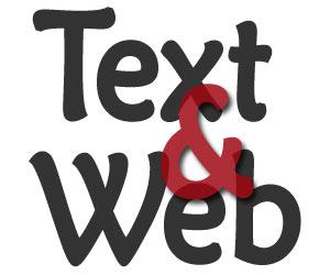 Entwurf für das zukünftige Text & Web-Logo