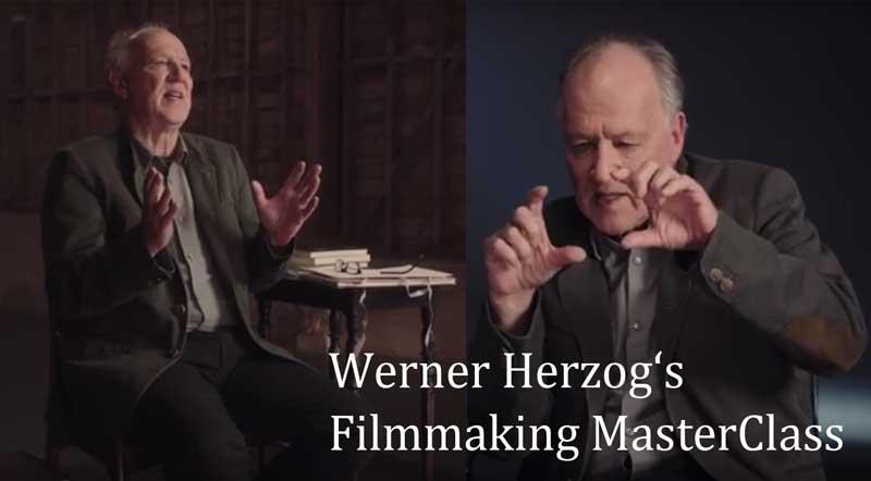 Werner Herzog: Filmmaking Masterclass