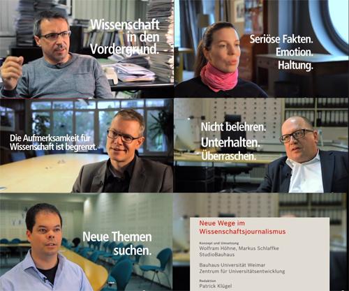 Writing out of the box - Neue Erzählformen im Wissenschaftsjournalismus