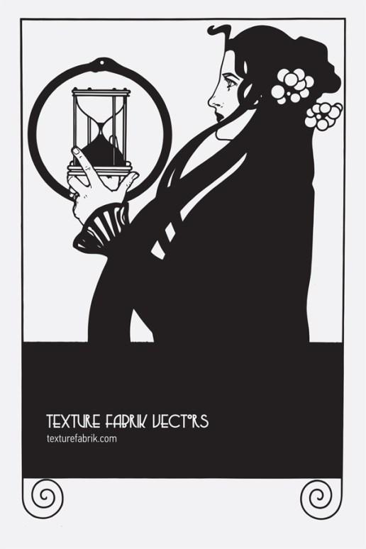 Download: PDF | EPS[original image: Koloman Moser, Frommes calendar, 1899, Austria.]